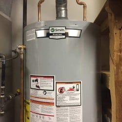 Hot water heater installed in Monmouth County